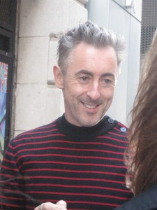 Alan Cumming at the stage door